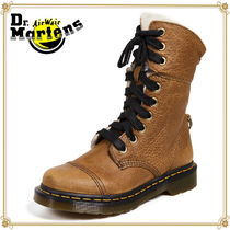 Dr Martens Plain Toe Plain Leather Engineer Boots