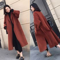Plain Long Oversized Elegant Style Coats