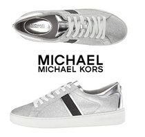 Michael Kors Casual Style Plain PVC Clothing Low-Top Sneakers