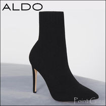 ALDO Plain Pin Heels Elegant Style Ankle & Booties Boots