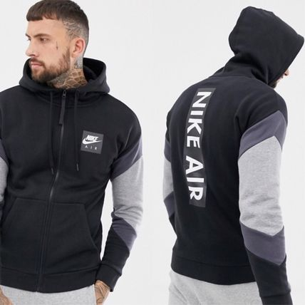 Nike Hoodies Sweat Street Style Long Sleeves Plain Hoodies