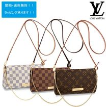 Louis Vuitton MONOGRAM Monogram Chain Shoulder Bags