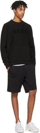 NOAH NYC Sweatshirts Crew Neck Pullovers Street Style Long Sleeves Cotton 4