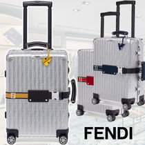 FENDI Unisex Collaboration A4 Bags