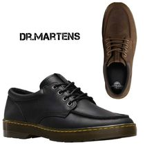 Dr Martens Plain Leather U Tips Oxfords