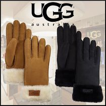 UGG Australia Casual Style Unisex Wool Street Style Plain Gloves Gloves