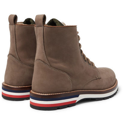 f60c35ce27de MONCLER 2019 SS Suede Boots by GLAY - BUYMA