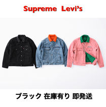 Supreme Supreme Levis Quilted Reversible Trucker Jacket AW18 WEEK11