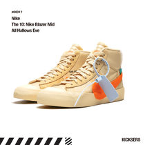 Off-White Unisex Street Style Collaboration Halloween Sneakers