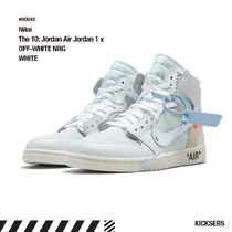 Off-White Unisex Street Style Collaboration Sneakers