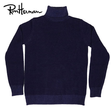 Unisex Wool Fine Gauge Long Sleeves Plain Handmade