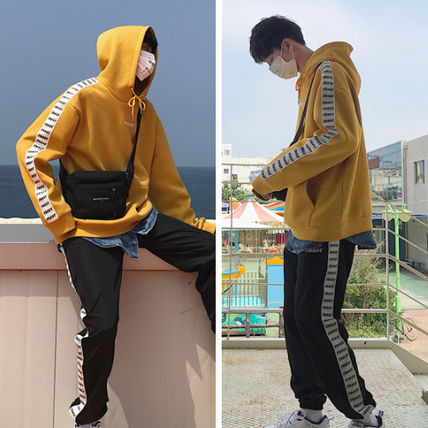 Hoodies Pullovers Street Style Long Sleeves Hoodies 3