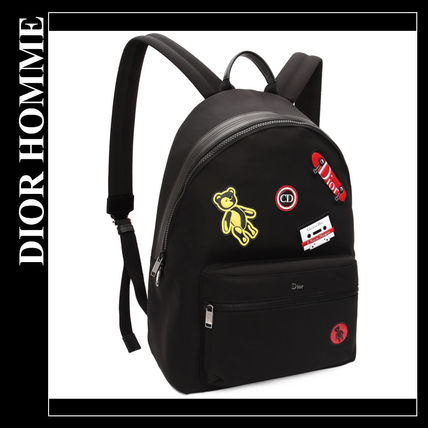 ... DIOR HOMME Backpacks Nylon Street Style A4 Backpacks ... 00281daca48d