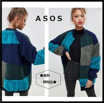 ASOS Casual Style Street Style Plain Medium Varsity Jackets