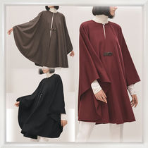 HERMES petit h Cashmere Plain Medium Ponchos & Capes
