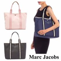 MARC JACOBS Casual Style Canvas A4 Plain Totes