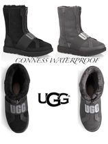 UGG Australia CLASSIC SHORT Round Toe Rubber Sole Casual Style Sheepskin Street Style