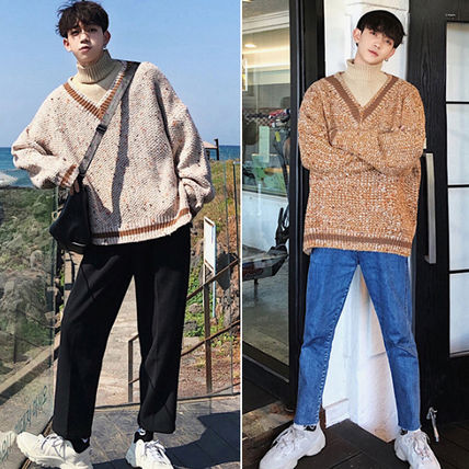 Knits & Sweaters Street Style Long Sleeves Knits & Sweaters 2