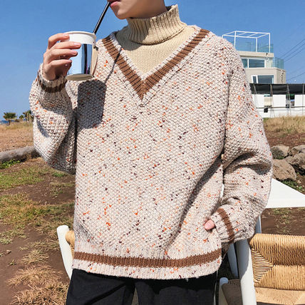 Knits & Sweaters Street Style Long Sleeves Knits & Sweaters 3