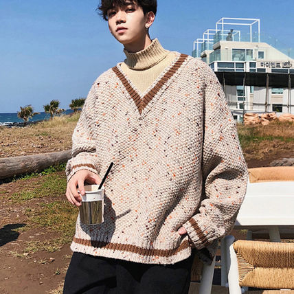 Knits & Sweaters Street Style Long Sleeves Knits & Sweaters 4