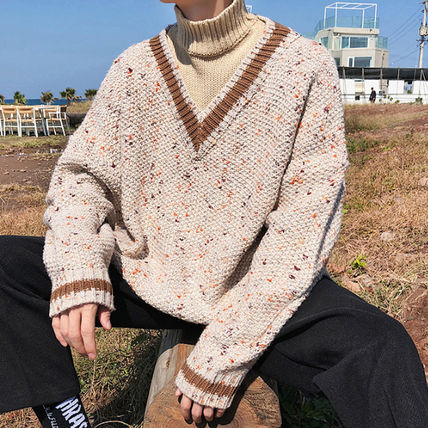 Knits & Sweaters Street Style Long Sleeves Knits & Sweaters 8