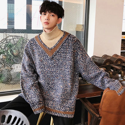 Knits & Sweaters Street Style Long Sleeves Knits & Sweaters 11