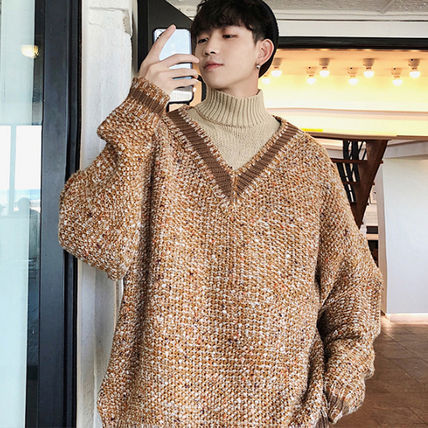 Knits & Sweaters Street Style Long Sleeves Knits & Sweaters 12