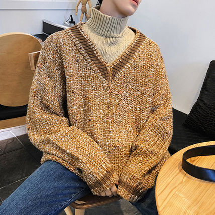 Knits & Sweaters Street Style Long Sleeves Knits & Sweaters 14