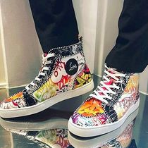 Christian Louboutin RANTUS Street Style Leather Sneakers