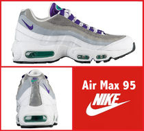 Nike AIR MAX 95 Rubber Sole Lace-up Casual Style Street Style