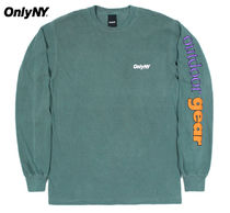 ONLY NY Unisex Street Style Collaboration Long Sleeves