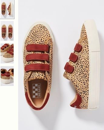 Leopard Patterns Low-Top Sneakers