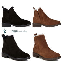 EMU Australia Sheepskin Plain Chelsea Boots Ankle & Booties Boots