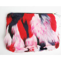 UGG Australia Other Check Patterns Fur A4 Clutches