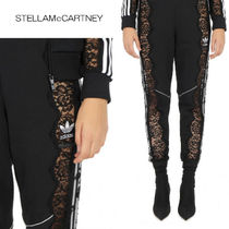 Stella McCartney Casual Style Sweat Street Style Plain Long Sweatpants