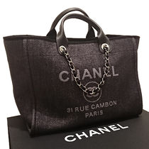 CHANEL DEAUVILLE Casual Style 2WAY Totes