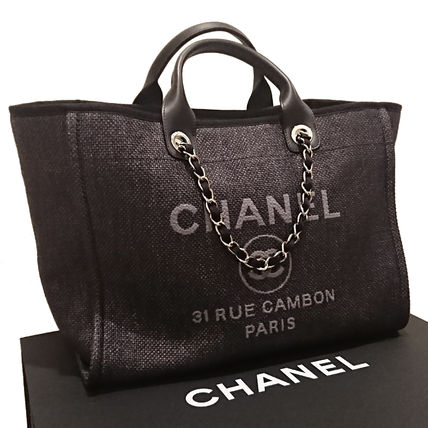 CHANEL Totes Casual Style 2WAY Totes