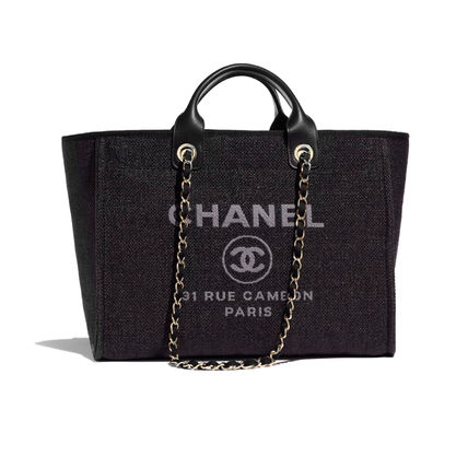 CHANEL Totes Casual Style Unisex 2WAY Chain Totes 2