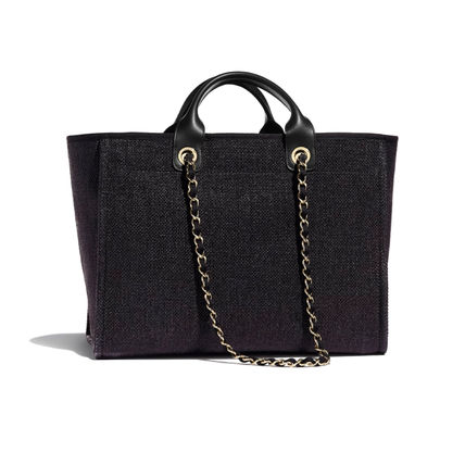 CHANEL Totes Casual Style Unisex 2WAY Chain Totes 3