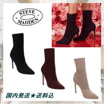 Steve Madden Plain Pin Heels Ankle & Booties Boots