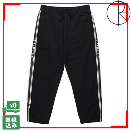 Tapered Pants Unisex Street Style Bottoms