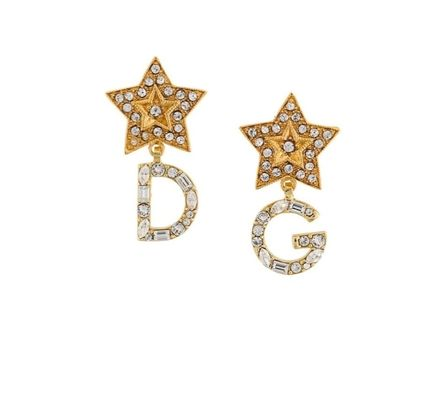 Casual Style Initial With Jewels Earrings & Piercings