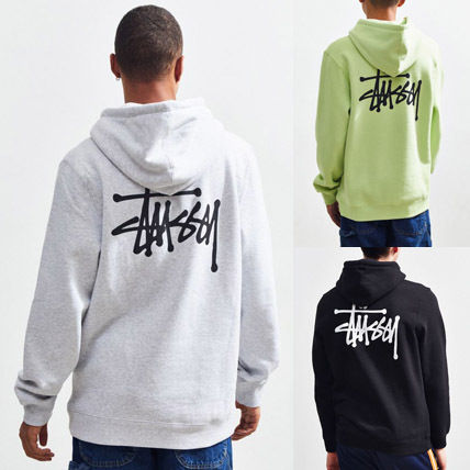 STUSSY Hoodies Pullovers Sweat Street Style Long Sleeves Hoodies