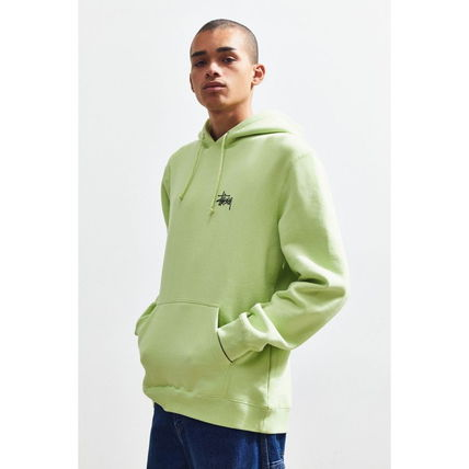 STUSSY Hoodies Pullovers Sweat Street Style Long Sleeves Hoodies 3