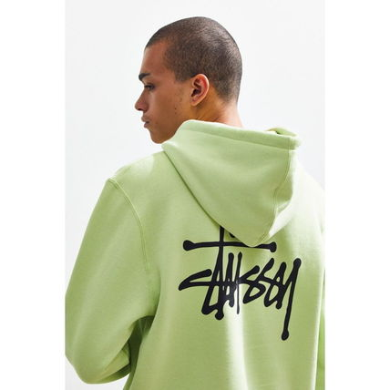 STUSSY Hoodies Pullovers Sweat Street Style Long Sleeves Hoodies 4