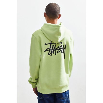 STUSSY Hoodies Pullovers Sweat Street Style Long Sleeves Hoodies 6