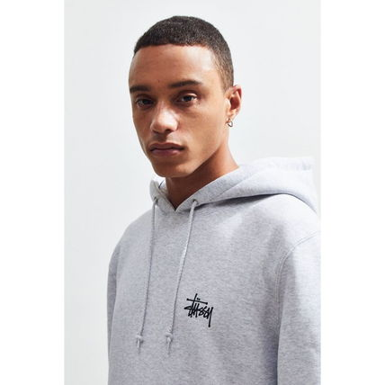STUSSY Hoodies Pullovers Sweat Street Style Long Sleeves Hoodies 10