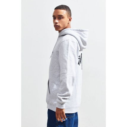 STUSSY Hoodies Pullovers Sweat Street Style Long Sleeves Hoodies 12
