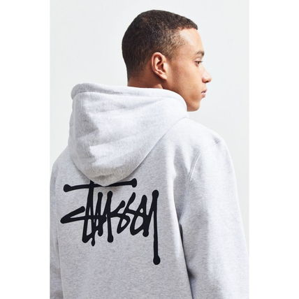 STUSSY Hoodies Pullovers Sweat Street Style Long Sleeves Hoodies 13
