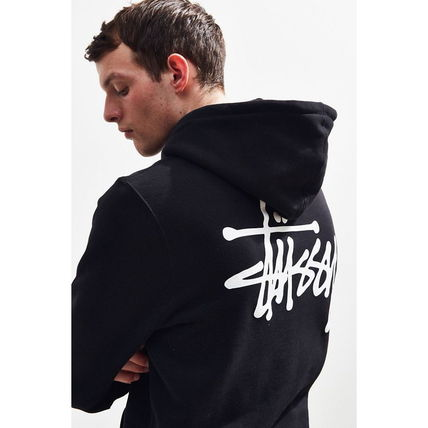 STUSSY Hoodies Pullovers Sweat Street Style Long Sleeves Hoodies 15